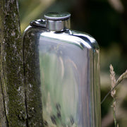 Wentworth Pewter Flasks & Bottles Custom Engraved Pewter Pocket Flask Kaufmann Mercantile