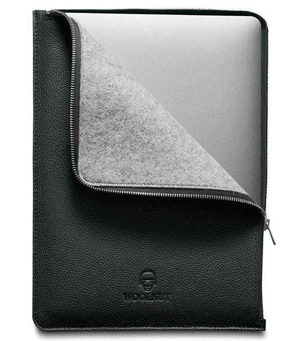 "Woolnut Tech Cases Racing Green MacBook 13"" Folio Kaufmann Mercantile"