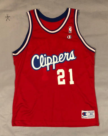 Dominique Wilkins Clippers Jersey