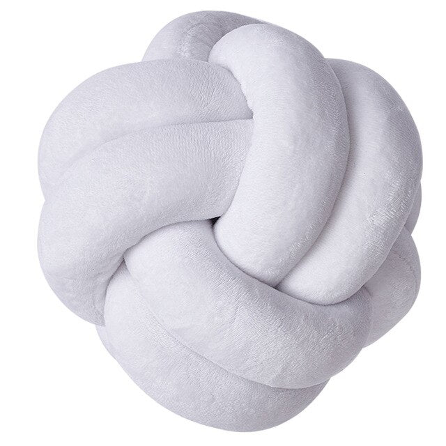 Can You Knot Throw Pillow