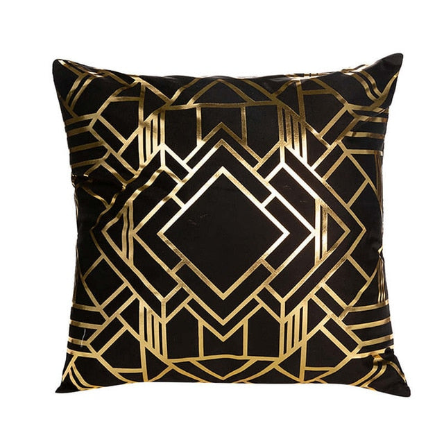 Everything That Glitters Throw Pillow Cover