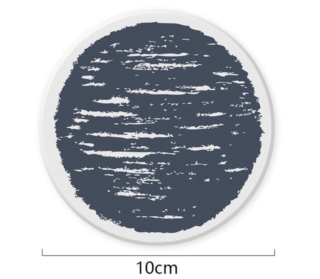 It's Black and White Coaster, 1pc