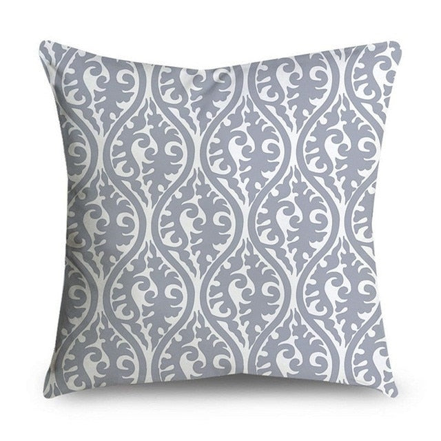 Shades of Gray Throw Pillow Cover