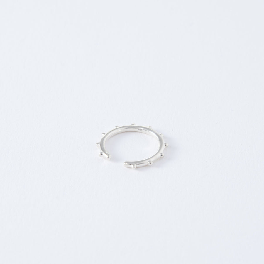 silver dots ear cuff[made to order]