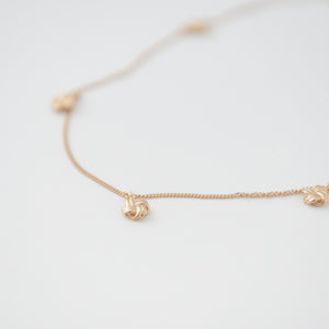 5EN Small Tied Necklace(ゴエンスモールタイドネックレス)[made to order]