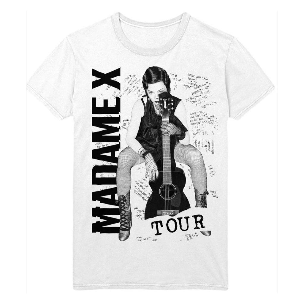 Madame X Tour Tee - White