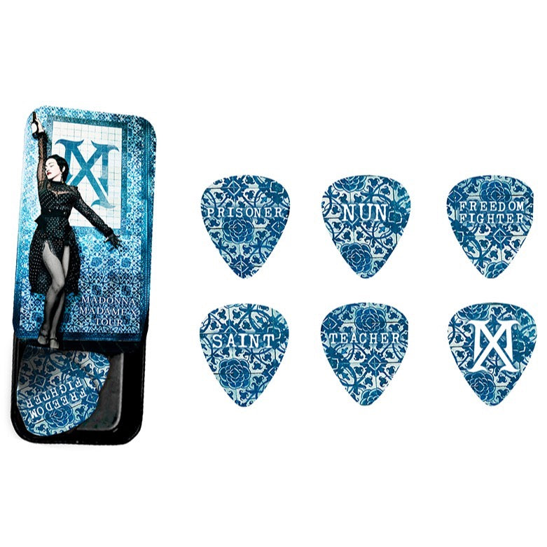 MX Tour guitar pick set-Madonna