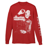 Madame X Red Long Sleeve Tee-Madonna