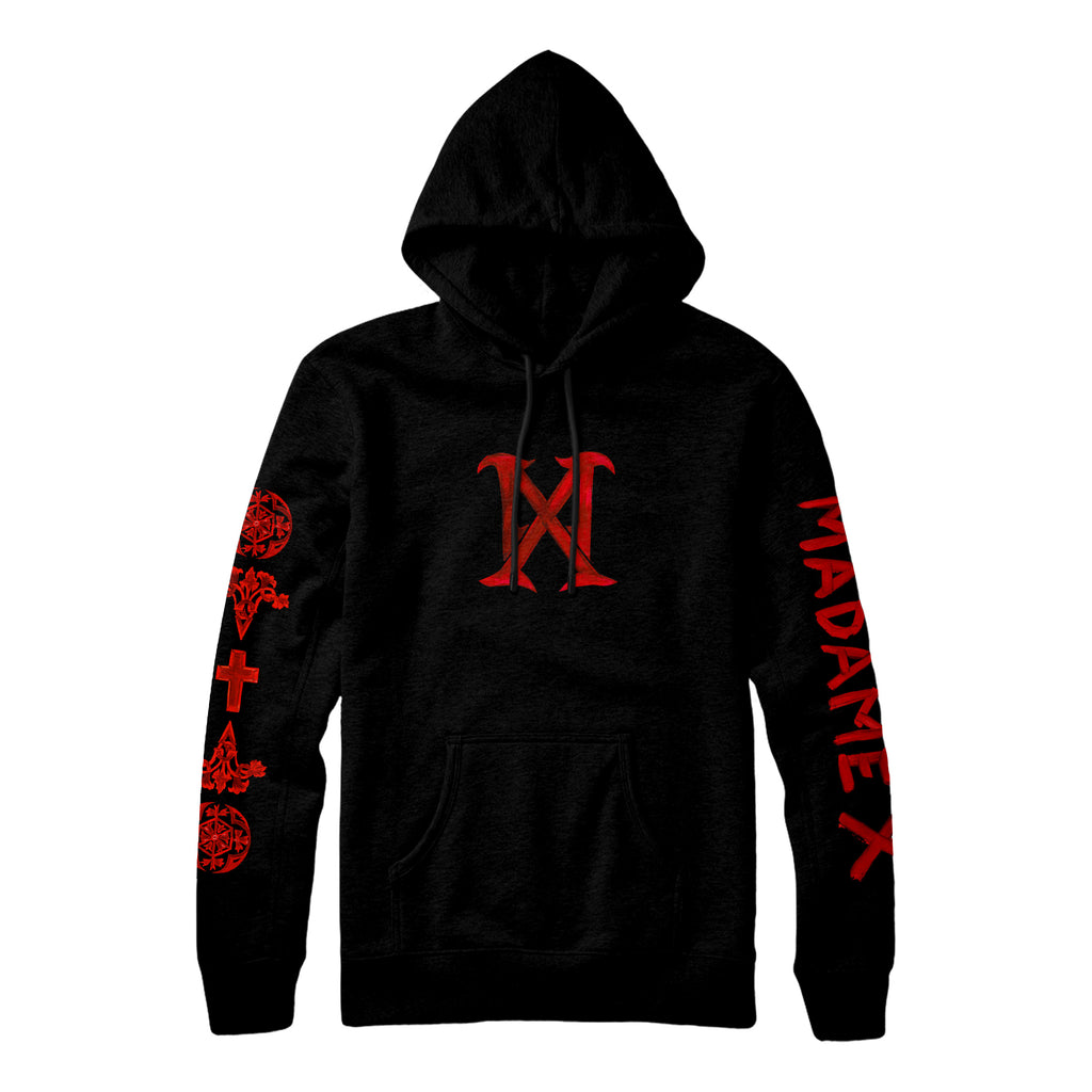 MX Logo Pullover Sweatshirt - Black