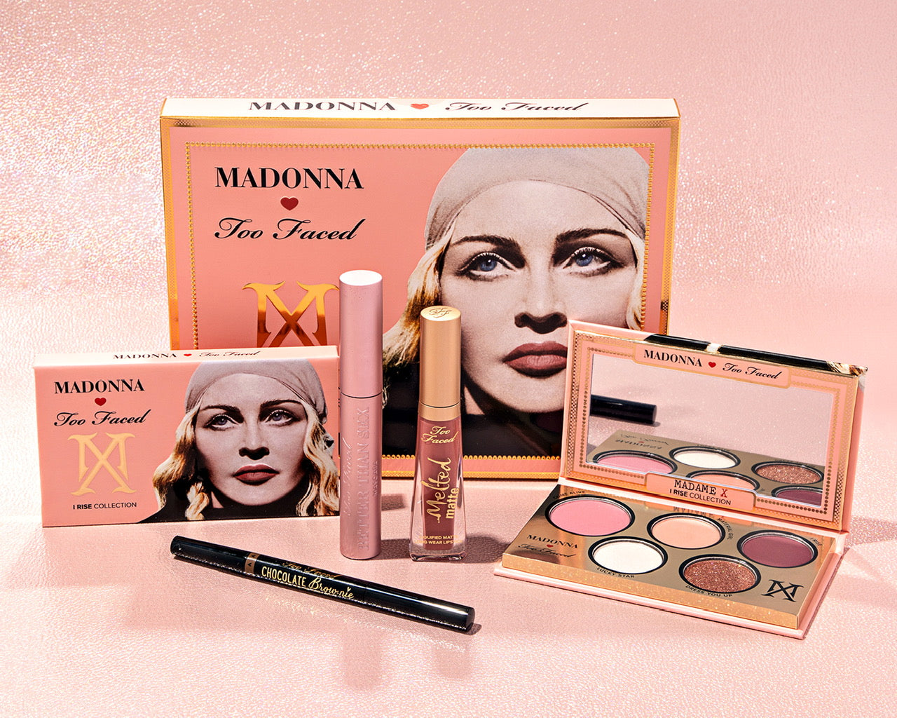 Madonna by Too Faced - Madame X I Rise Makeup Palette-Madonna