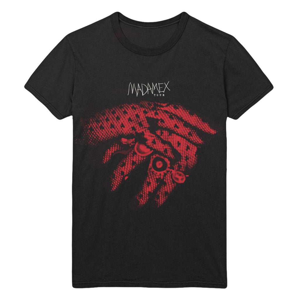 Madonna Gloved Hands Tee
