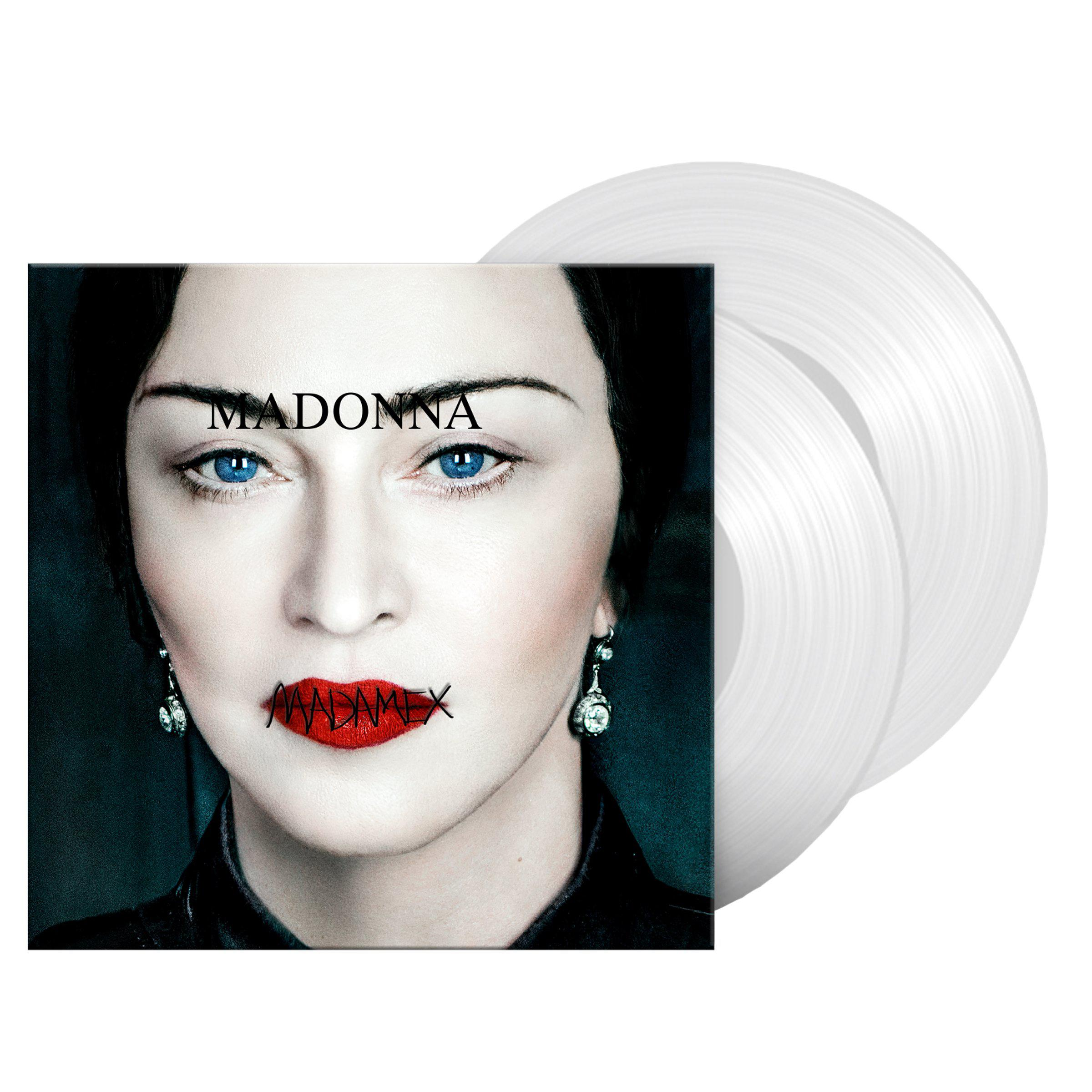 Web Exclusive Madame X Clear Vinyl (2 LP)-Madonna