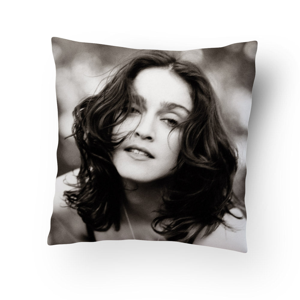 Like A Prayer 30th Anniversary Black and White Photo Pillow
