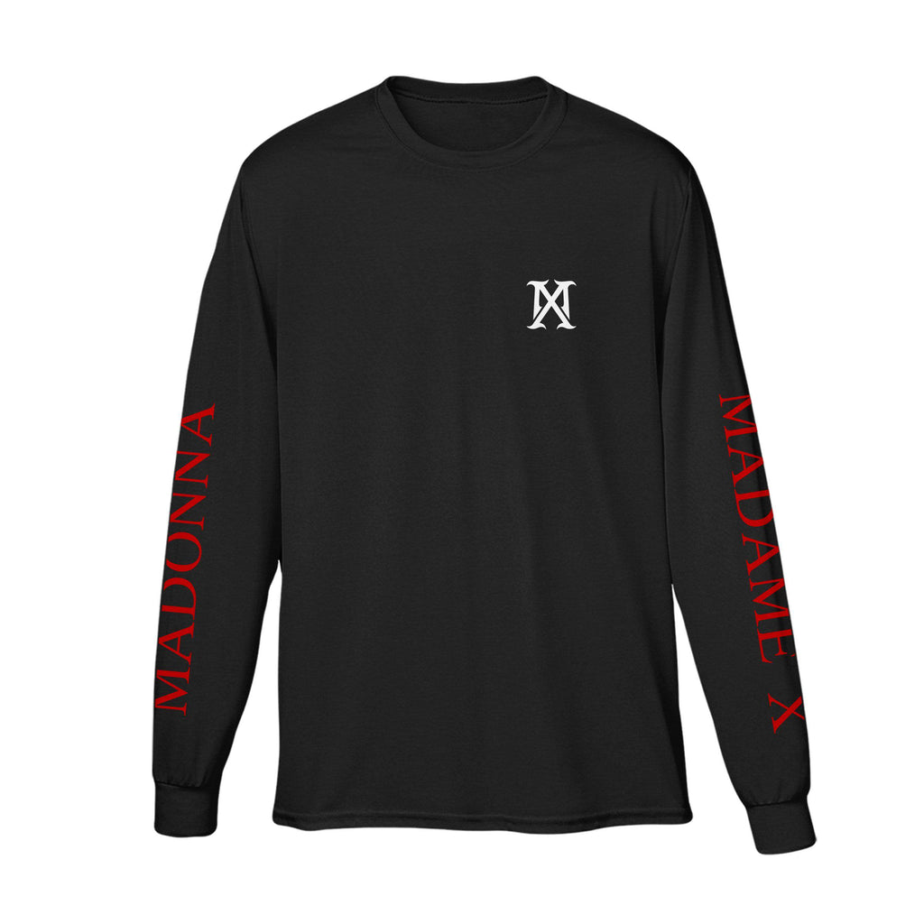 MX Logo long sleeve tee-Madonna