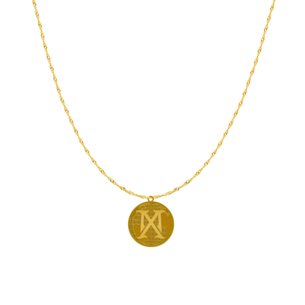 Madame X logo Necklace-Madonna