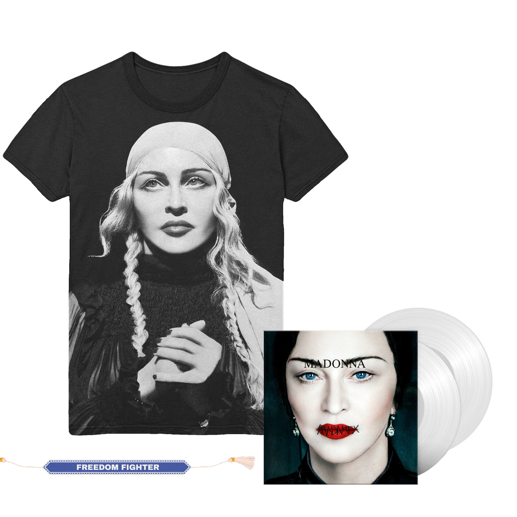 Madonna Madame X Web Exclusive Vinyl, Tee & Digital Album-Madonna