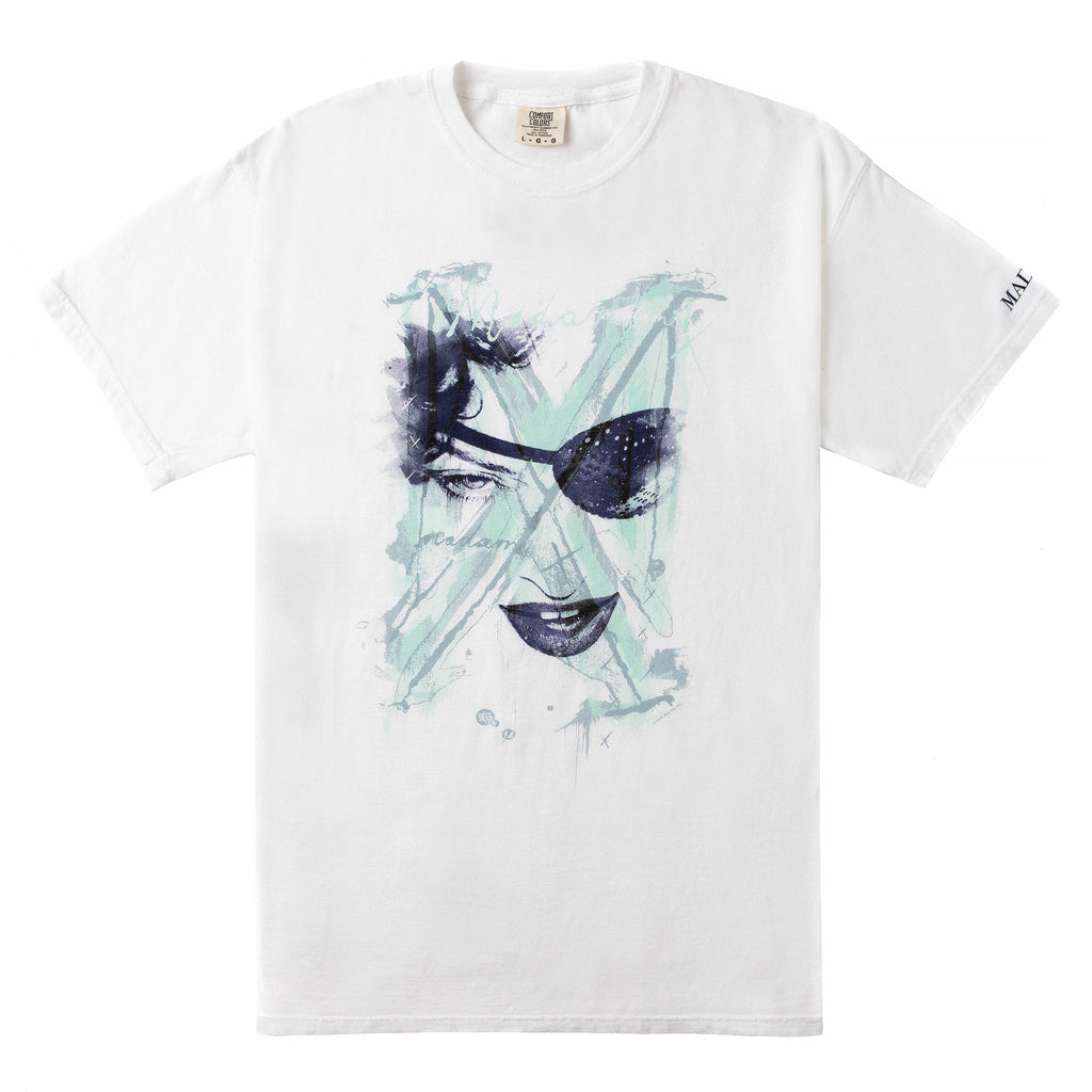"MX ""Painted"" Eyepatch Tee-Madonna"