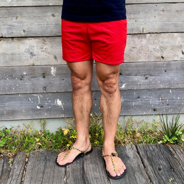 3Pocket Short Pants (Red / Unisex)Answer4