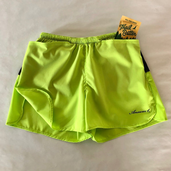 3inch Short Pants(Acid Lime / Unisex)Answer4