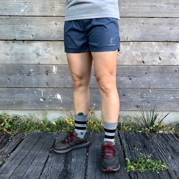 WS ELV1000 5in Hybrid Shorts (Blue / Women's)Teton Bros.