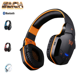 Headset KOTION EACH B3505 Wireless Bluetooth Gamer Pubg Free Fire Cod