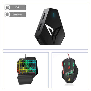 Kit Original Flydigi Q1 + Mouse e Teclado