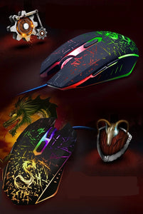 Mouse Gamer MAD DRAGON RGB Iluminado