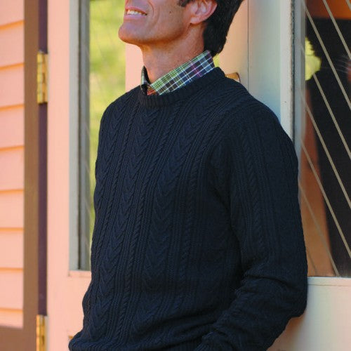 Navy Blue Sweater