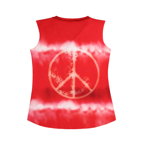 TIE DYE PEACE AND LOVE