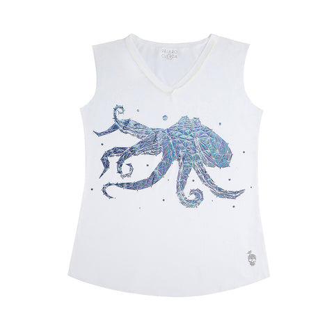 INDIGO BLUE OCTOPUS CONSTELLATION