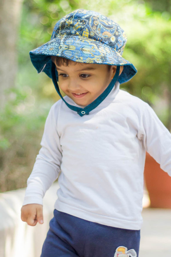 Dream Land: Cotton Printed Sunhat