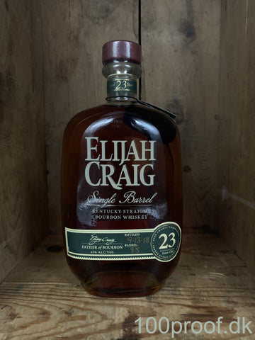 Elijah Craig 23 års Single Barrel Bourbon