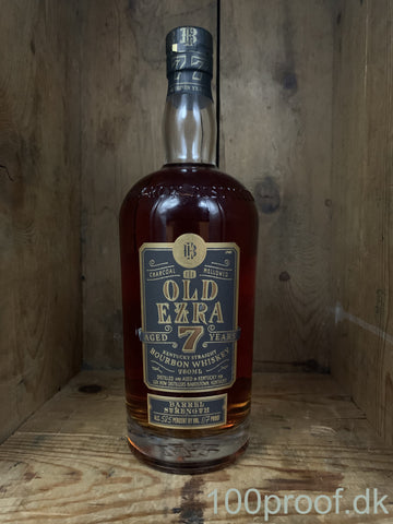 Old Ezra Barrel Strength 7 År Bourbon