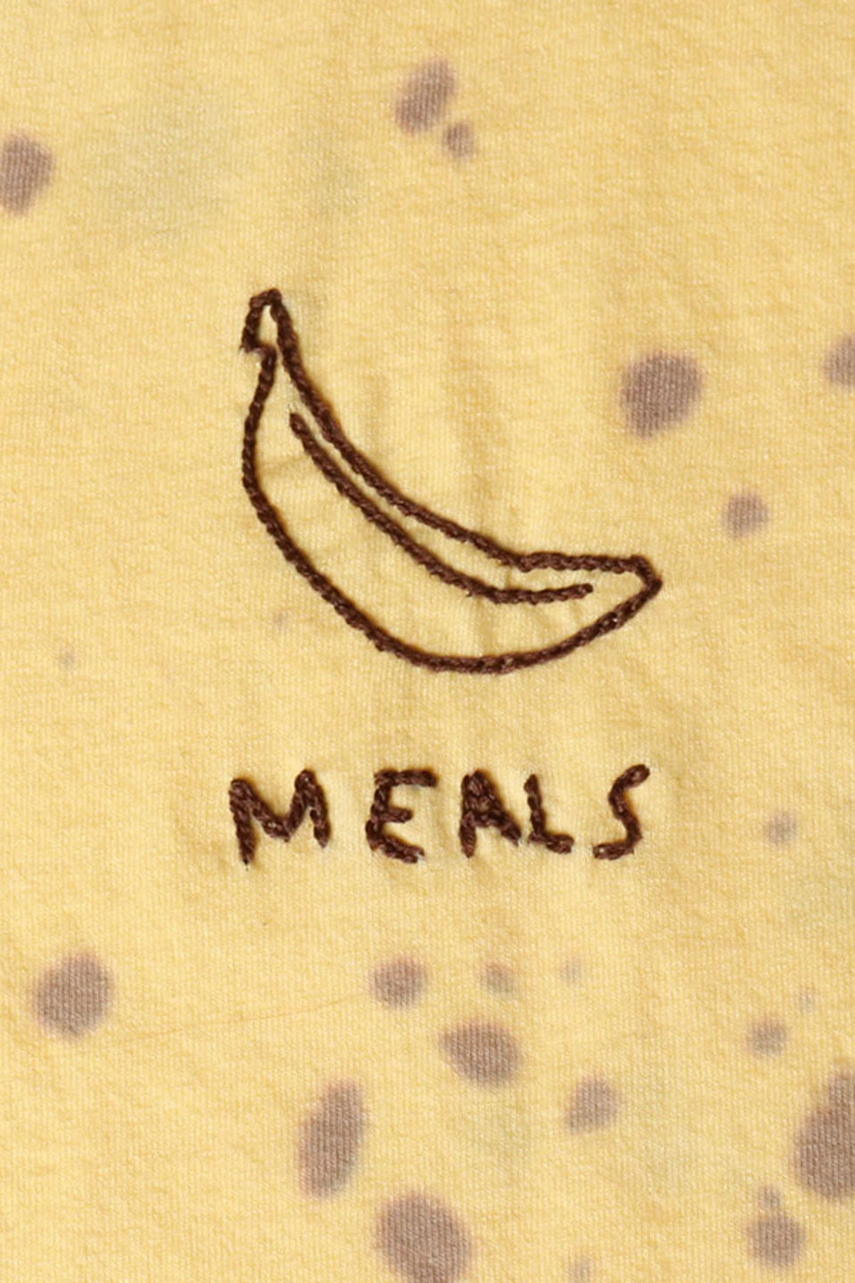 #1 Embroidered Banana Tee