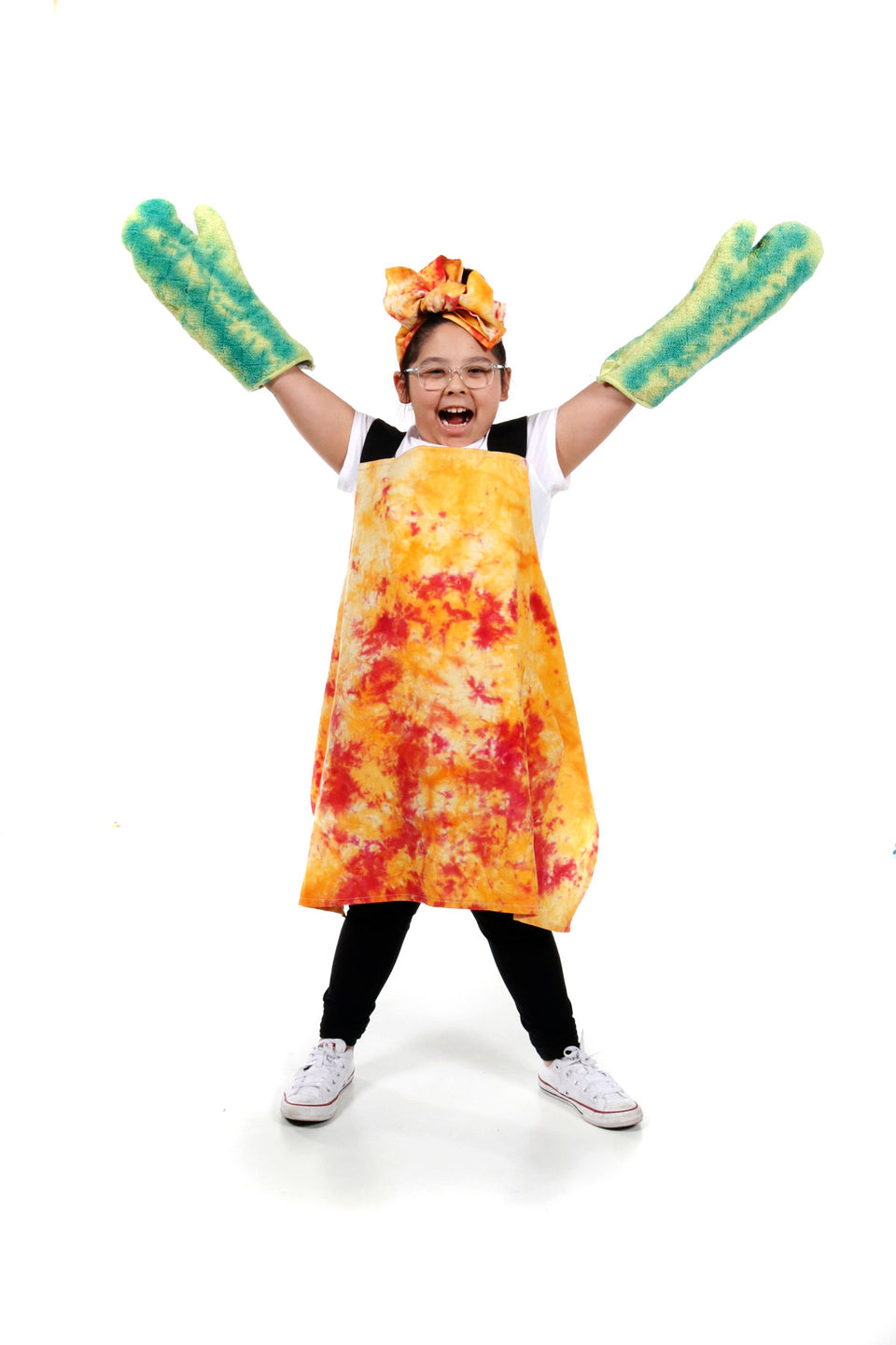 Kids' Apron in Sweet Chili