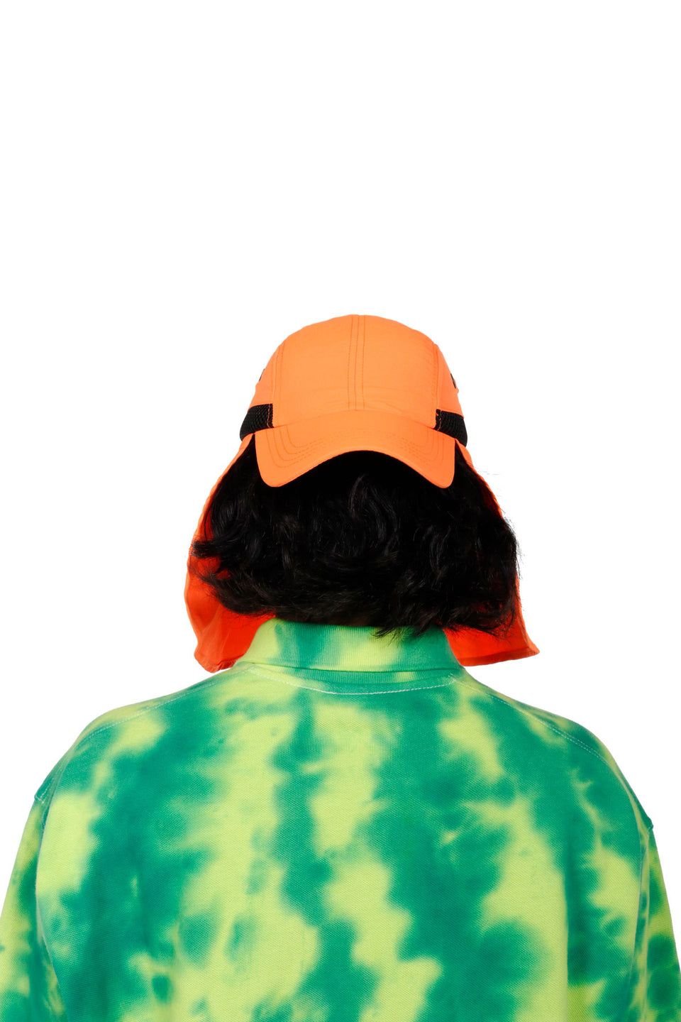 #2 Tangerine Mask Hat