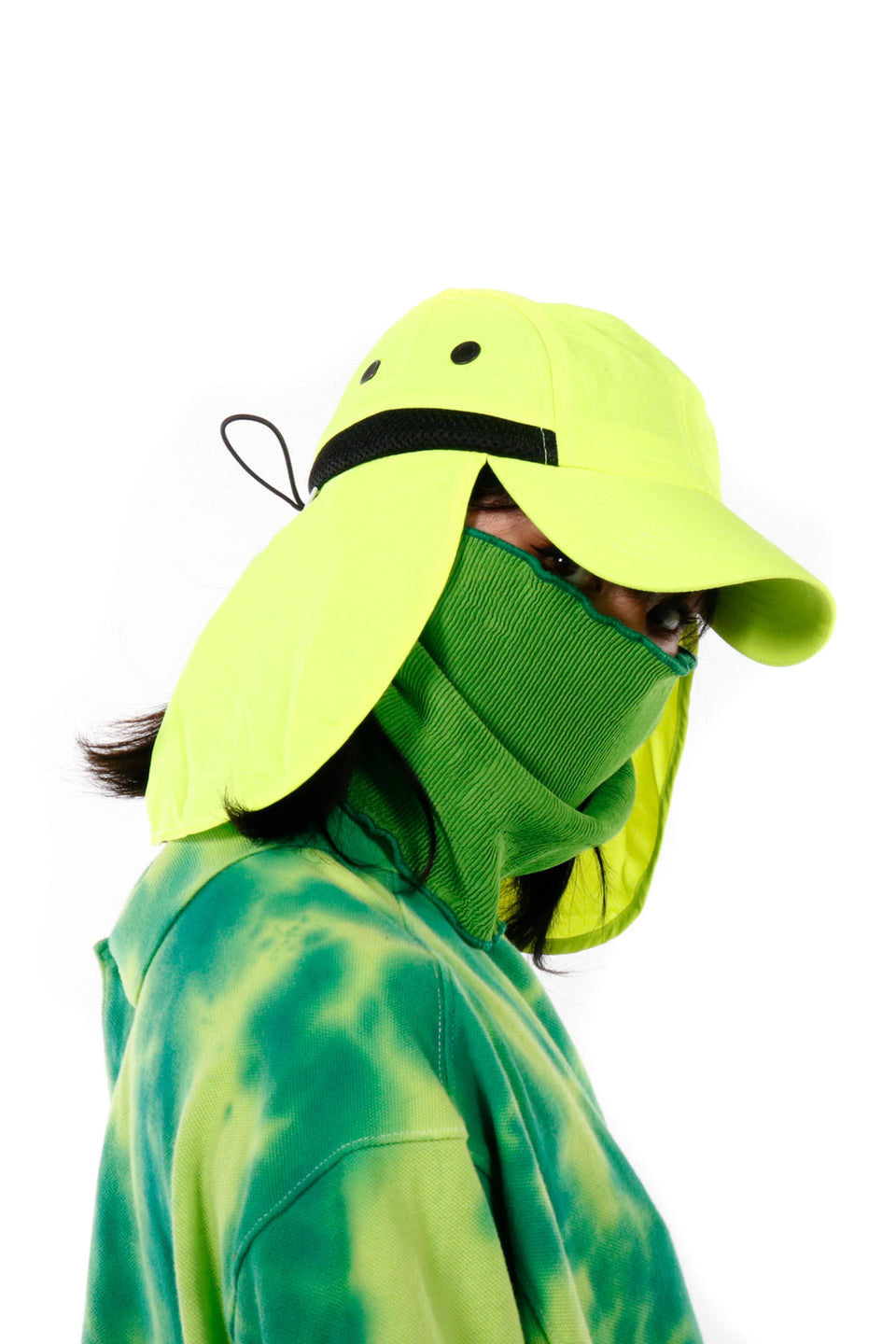 #1 Lemon Mask Hat