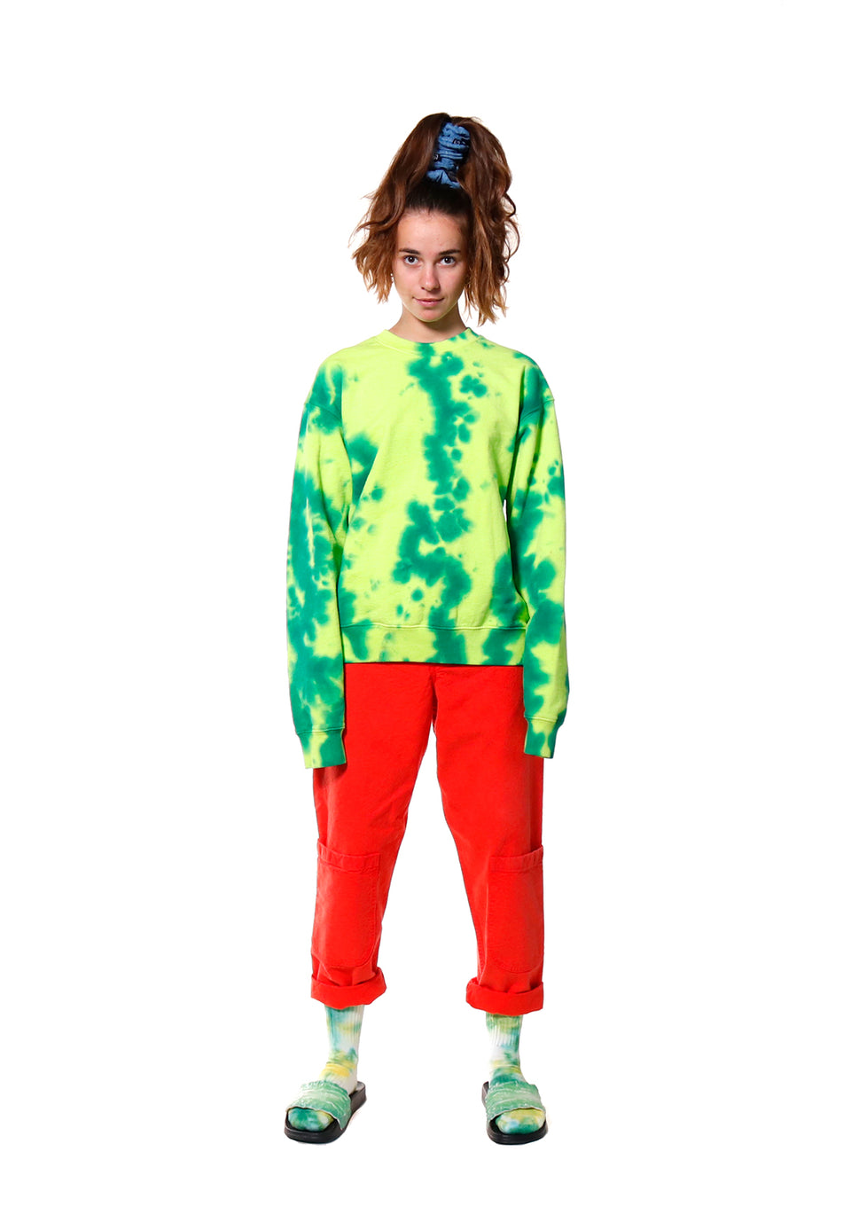 Watermelon Crew Neck Sweatshirt