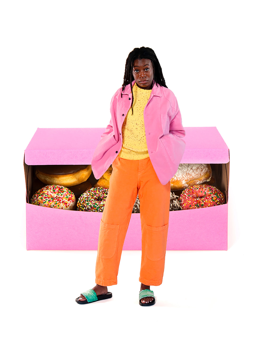 Donut Box Jacket