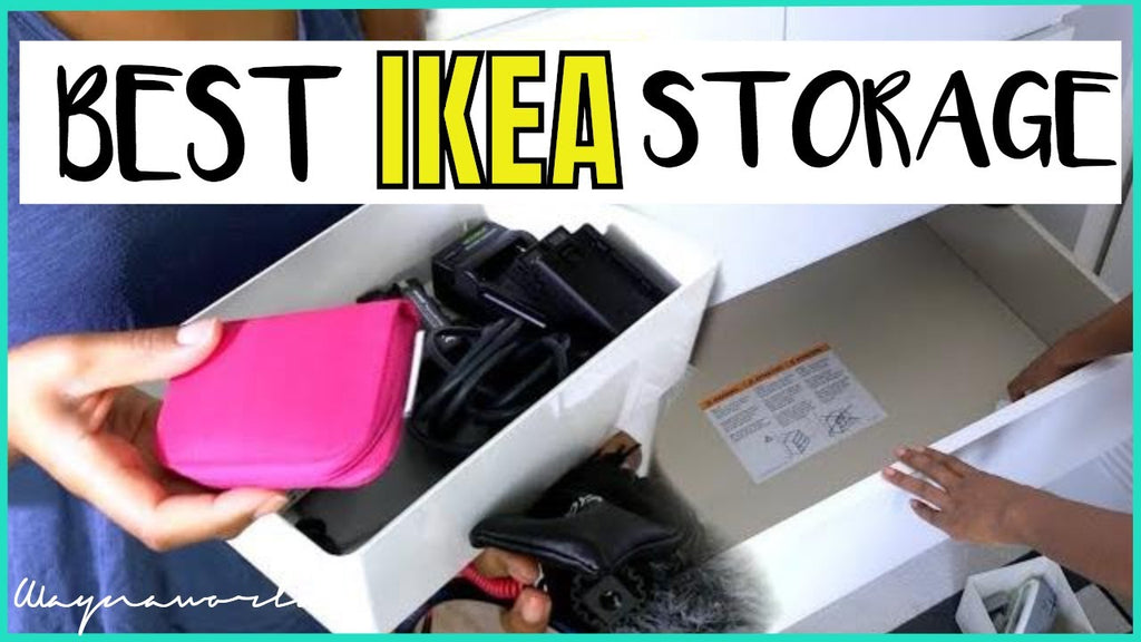 This video is about Organize with me, and the best storage for Ikea Alex and Malm dresser