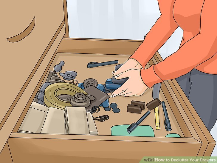 How to Declutter Your Drawers