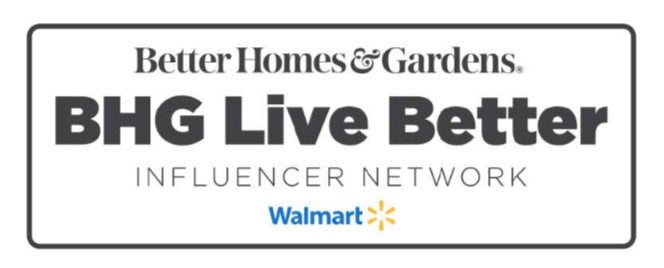 This  post is sponsored by Better Homes & Gardens At Walmart
