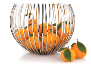 Picturesque Metal Fruit Basket