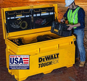 New Dewalt ToughCase+ Clear Power Tool Accessory Boxes