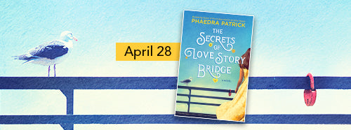 So excited to share this Q&A with Author Phaedra Patrick for The Secrets of Love Story Bridge + Excerpt