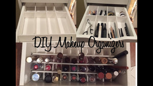 Hey guys! Thanks for watching my DIY Makeup Drawer Organizers video! I hope this wasn't too confusing! Let me know if you try to recreate this project! :) Alex 9 ...