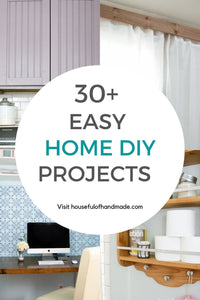 These easy home DIY projects can all be made in under 3 hours.