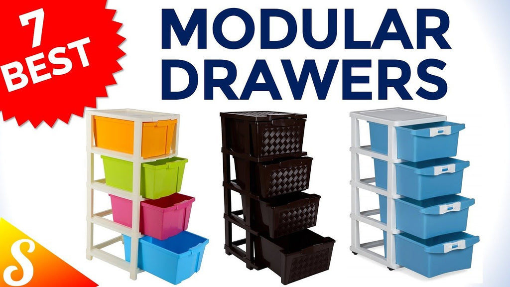 modulardrawers #multipurposeorganizer #smartken List of Top 7, Best Selling Modular Drawers for Storage available in India with Price