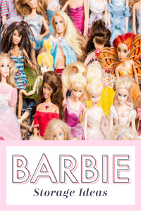 If you've got more than one Barbie doll, you know that Barbie storage ideas that really work are a necessity