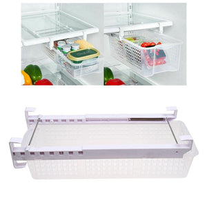 Fridge Mate Drawers Refrigerator Pull Out Bins Snap Drawer Organizer Storage